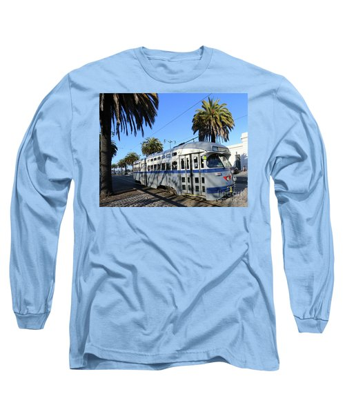 Long Sleeve T-Shirt featuring the photograph Trolley Number 1070 by Steven Spak