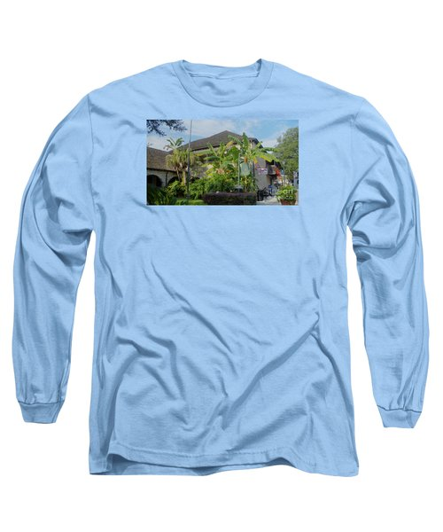 Tropical Atmosphere In St Augustine Long Sleeve T-Shirt