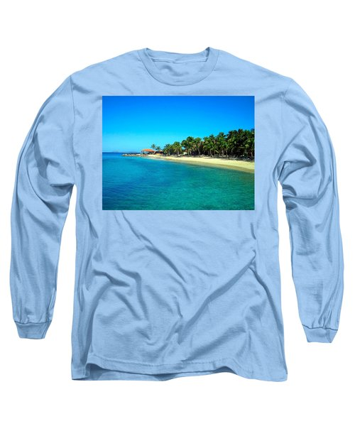 Tropical Bliss Long Sleeve T-Shirt by Betty Buller Whitehead