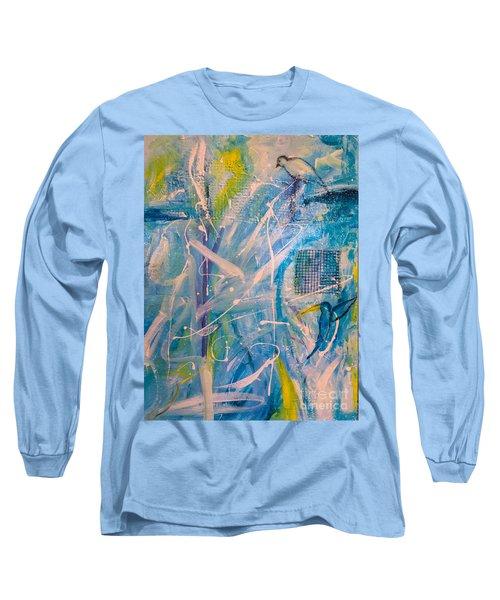 Tropicana Bird 02 Long Sleeve T-Shirt by Gallery Messina