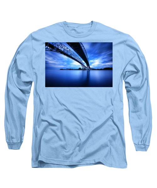 True Blue View Long Sleeve T-Shirt by Gordon Dean II