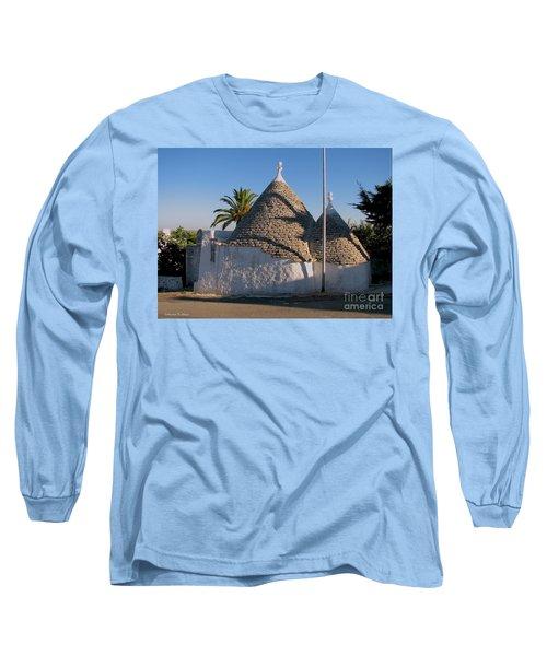 Trullo, Puglia Long Sleeve T-Shirt