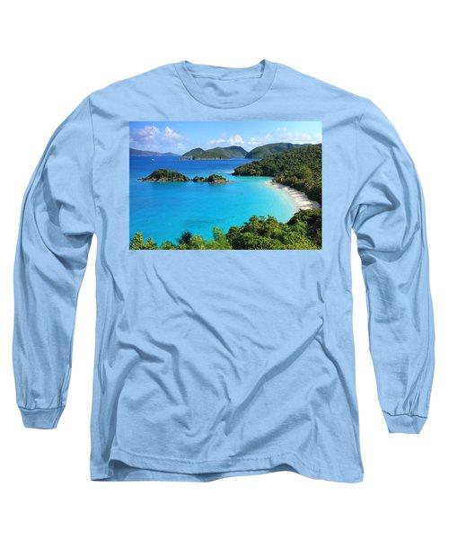 Trunk Bay St. John Long Sleeve T-Shirt