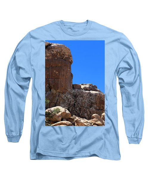 Long Sleeve T-Shirt featuring the photograph Trunk Made Of Stone by Viktor Savchenko