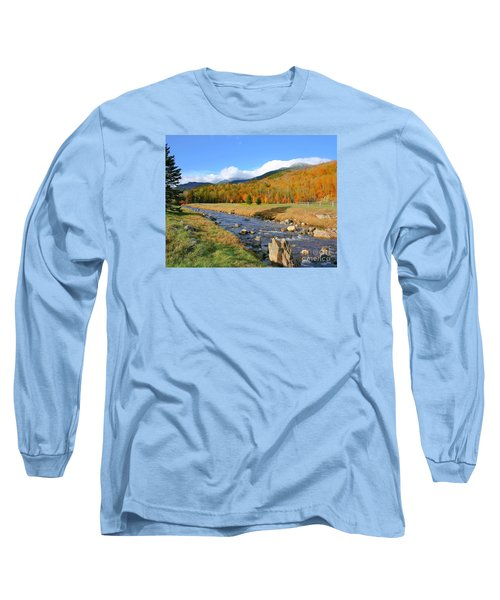 Long Sleeve T-Shirt featuring the photograph Tuckerman's Ravine by Debbie Stahre