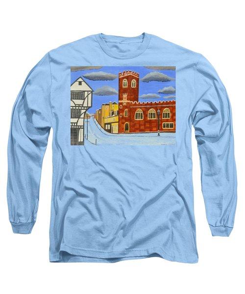 Tudor House In Exeter  Long Sleeve T-Shirt
