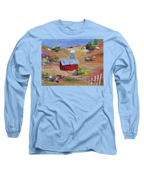 Tunkhannock Farm Long Sleeve T-Shirt