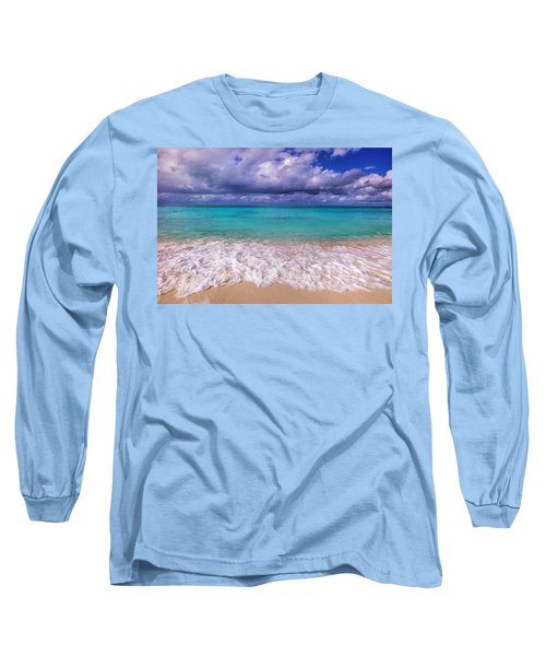 Turks And Caicos Beach Long Sleeve T-Shirt