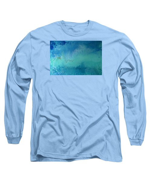 Turquoise Ocean Long Sleeve T-Shirt