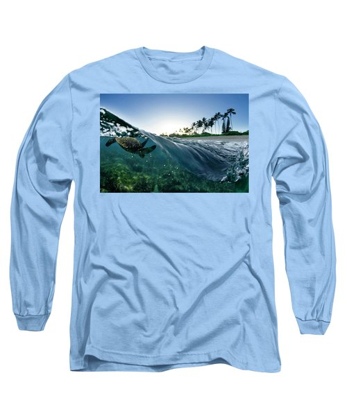 Turtle Split Long Sleeve T-Shirt