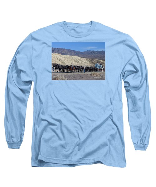 Long Sleeve T-Shirt featuring the photograph Twenty Mule Teams by Ivete Basso Photography