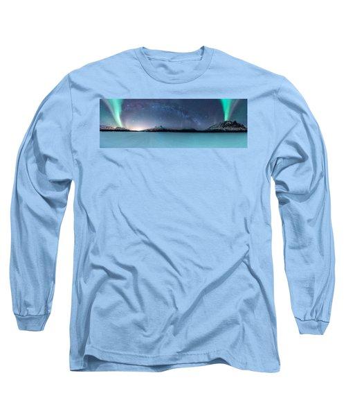 Twin Eruption Long Sleeve T-Shirt