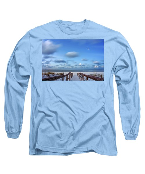 Twinkling Stars Long Sleeve T-Shirt by Don Spenner