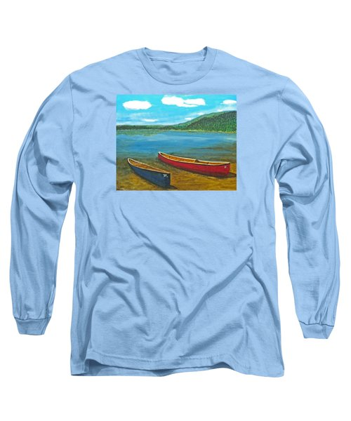 Two Canoes Long Sleeve T-Shirt
