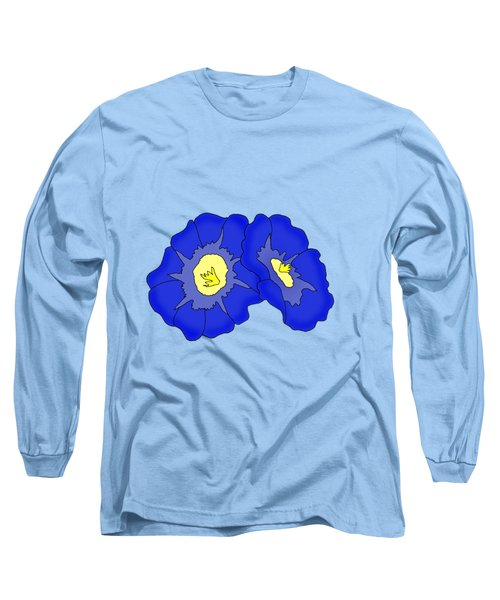 Two Morning Glories Long Sleeve T-Shirt