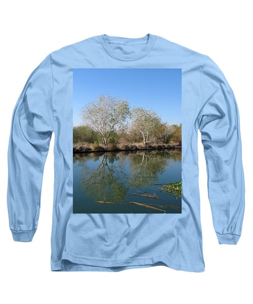 Two Reflected Long Sleeve T-Shirt by Laurel Powell