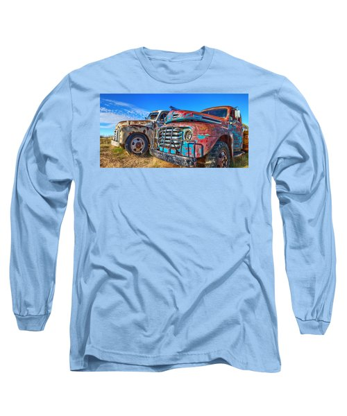 Two Trucks Long Sleeve T-Shirt