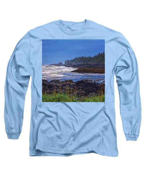Ucluelet, British Columbia Long Sleeve T-Shirt by Heather Vopni