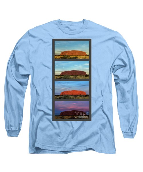 Uluru Sunset Long Sleeve T-Shirt