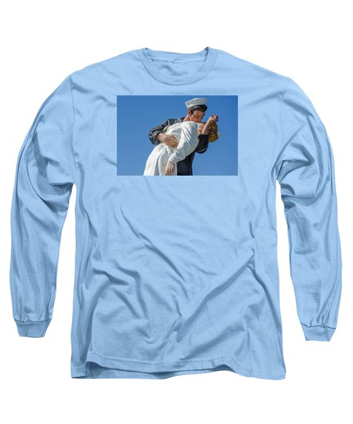 Unconditional Surrender 2 Long Sleeve T-Shirt by Susan  McMenamin