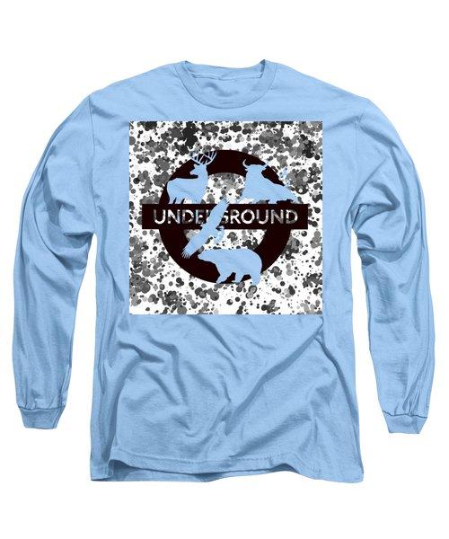Underground.2 Long Sleeve T-Shirt by Alberto RuiZ