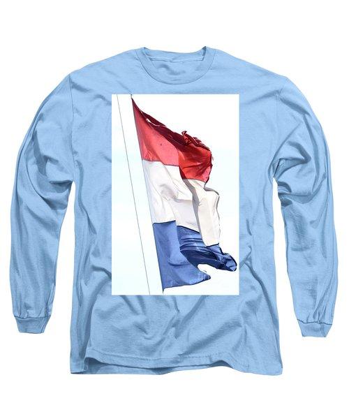 Long Sleeve T-Shirt featuring the photograph Unfurl 02 by Stephen Mitchell