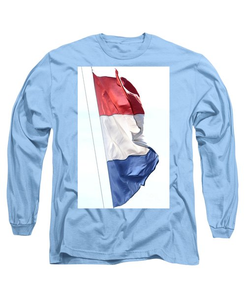 Long Sleeve T-Shirt featuring the photograph Unfurl 03 by Stephen Mitchell