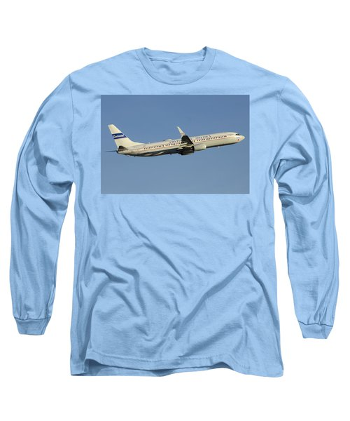 United Boeing 737-924 N75436 Retro Continental Phoenix Sky Harbor December 9 2015 Long Sleeve T-Shirt