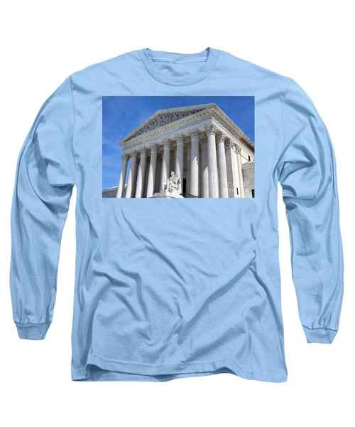 United States Supreme Court Building Long Sleeve T-Shirt