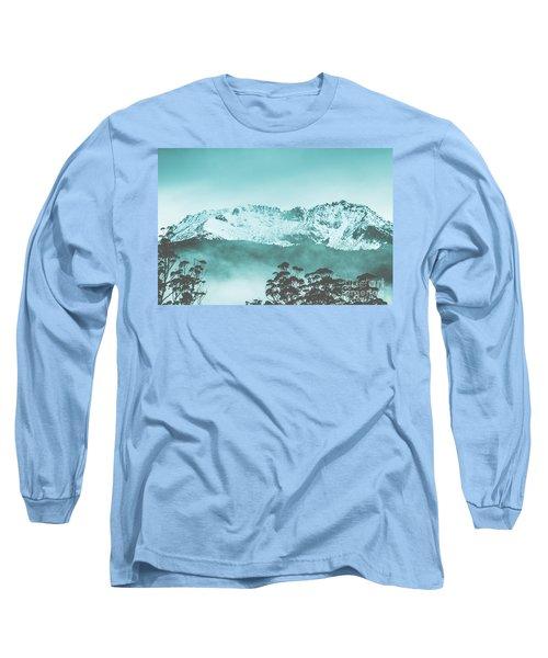 Untouched Winter Peaks Long Sleeve T-Shirt