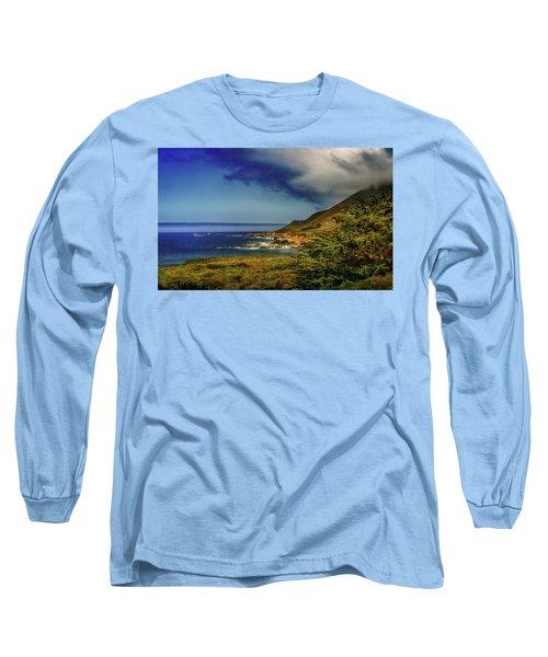 Up Coast Long Sleeve T-Shirt by Joseph Hollingsworth