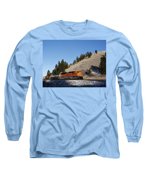 Up Hill And Into The Sun Long Sleeve T-Shirt