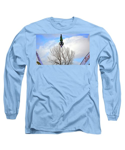 Upside Down And All Around Long Sleeve T-Shirt by Barbara Dudley