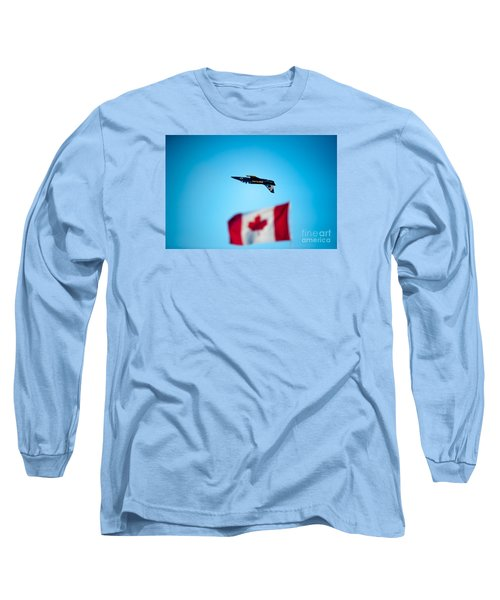 Upside Down Manoeuvre  Long Sleeve T-Shirt