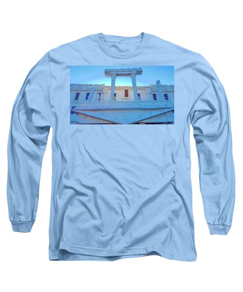 Upside Down White House Long Sleeve T-Shirt