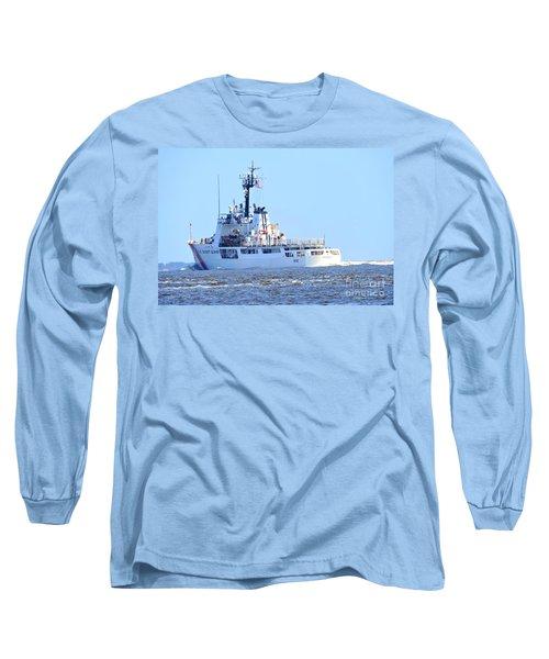 Us Coast Guard  - Diligence Long Sleeve T-Shirt by Shelia Kempf