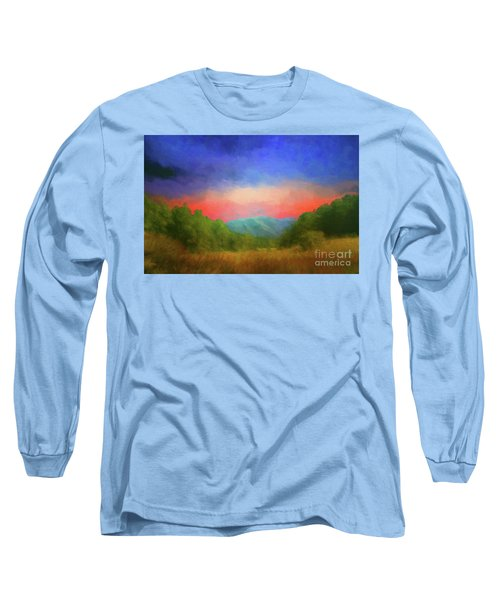 Valley In The Cove Long Sleeve T-Shirt by Geraldine DeBoer
