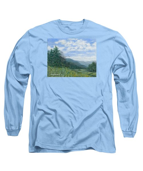 Valley View Long Sleeve T-Shirt by Kathleen McDermott