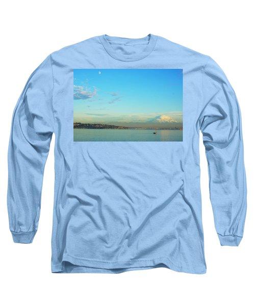 Vashon Island Long Sleeve T-Shirt by Angi Parks
