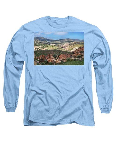 Vasquez Rocks Park Long Sleeve T-Shirt