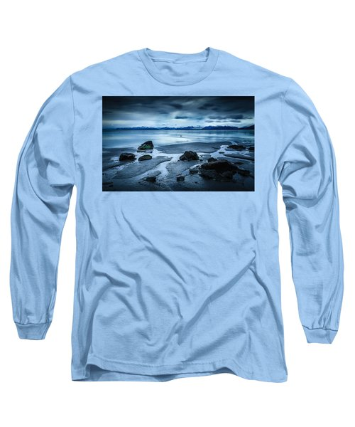 Vatnajokull From Stokksnes Long Sleeve T-Shirt