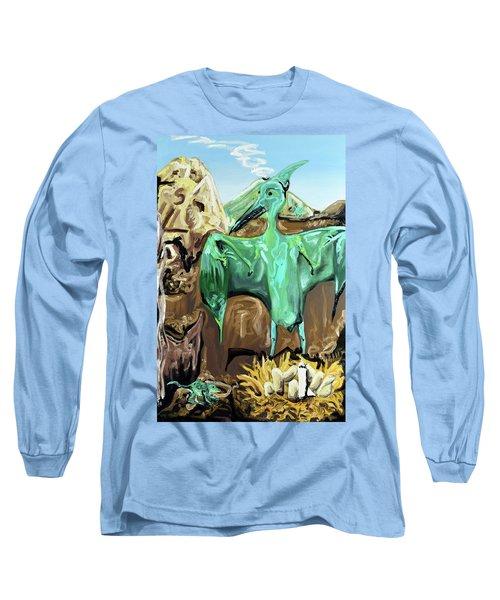 Vega Long Sleeve T-Shirt by Ryan Demaree