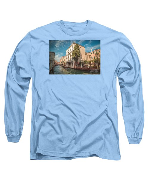 Venetian Architecture And Sky - Venice, Italy Long Sleeve T-Shirt