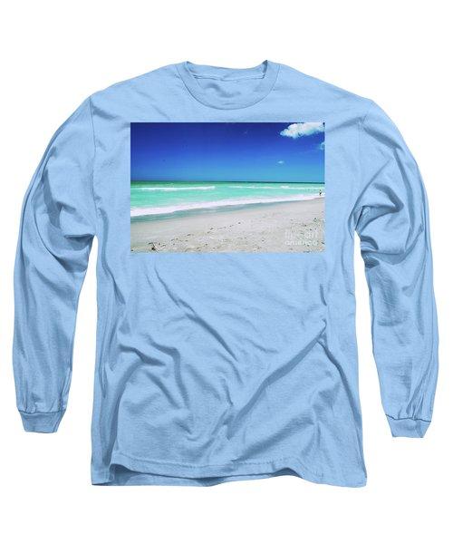 Long Sleeve T-Shirt featuring the photograph Venice Beach by Gary Wonning