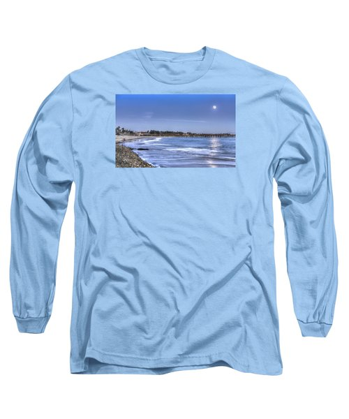Ventura Pier Moonrise Long Sleeve T-Shirt