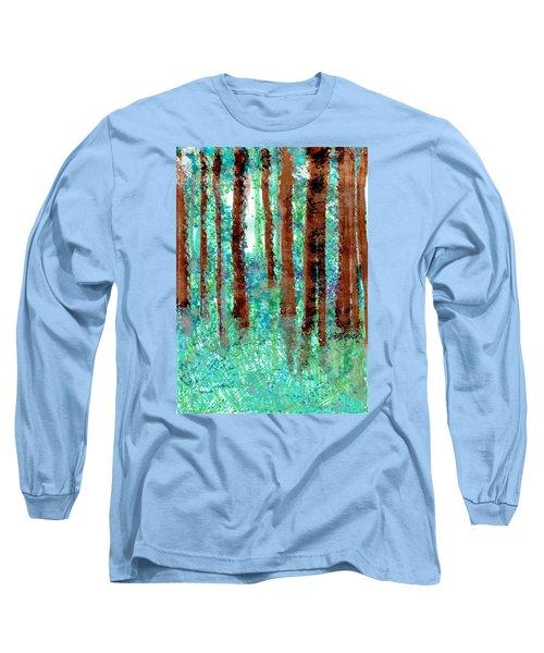 Verdant Vistas Long Sleeve T-Shirt