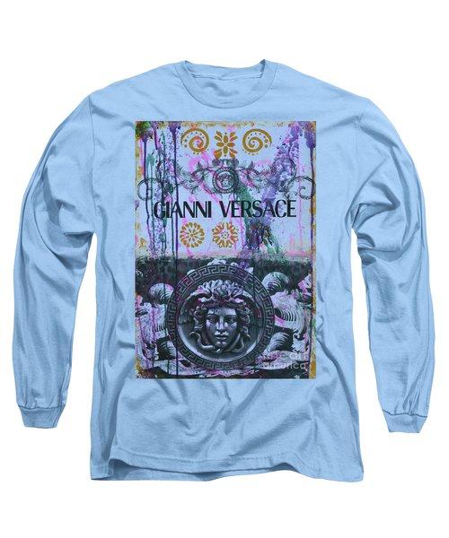 Versace Logo 2 Long Sleeve T-Shirt