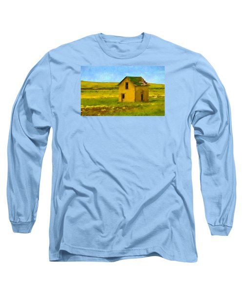 Long Sleeve T-Shirt featuring the photograph Very Little House by Susan Crossman Buscho