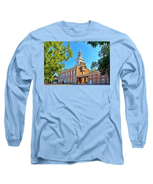 Long Sleeve T-Shirt featuring the photograph Vestige Of American Independence by DJ Florek