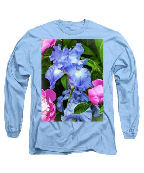 Victoria Falls Iris Long Sleeve T-Shirt